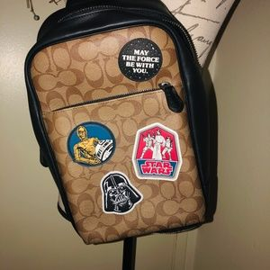 Coach Bags - Star Wars X Coach Westway Pack In Signature Canvas